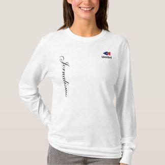 Bluse Erreichter Ärmel - Journalismus UNITRI T-Shirt