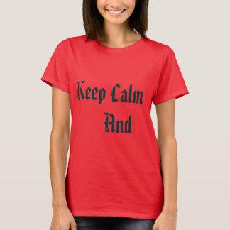 Bluse Keep Calm T-Shirt