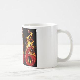 Blut 666 u. Feuer Kaffeetasse