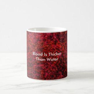 Blut ist stärker als Wasser Kaffeetasse