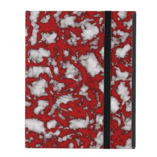 Blut-Marmor Hülle Fürs iPad