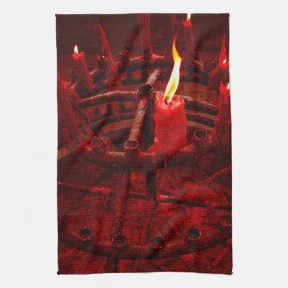 Blut-Ritual Geschirrtuch