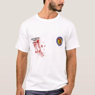 Blut-Spritzen-Analytiker-T - Shirt