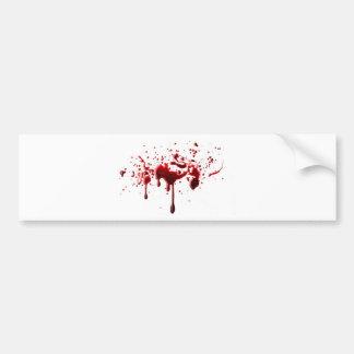 Blut-Spritzer 3 Autoaufkleber