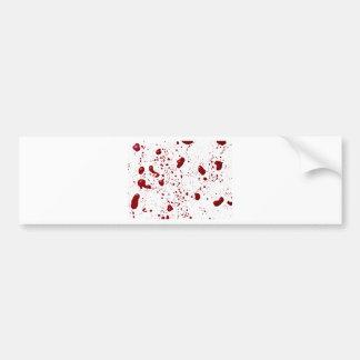 Blut-Spritzer Autosticker