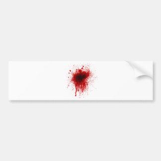 Blut-Spritzer realistisch Autoaufkleber