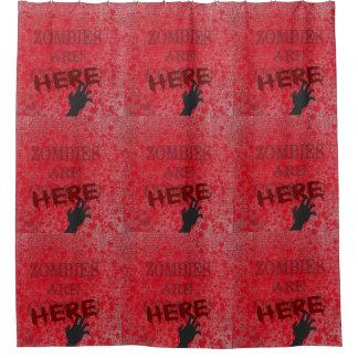 Blut-Spritzer-Zombies sind hier Duschvorhang