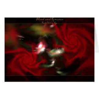 Blut und Romance Karte