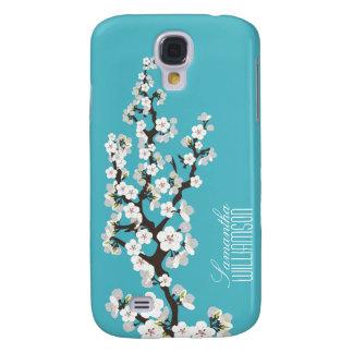 Blüte der Kirsche3 (Aqua) Galaxy S4 Hülle