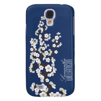 Blüte der Kirsche3 (blau) Galaxy S4 Hülle