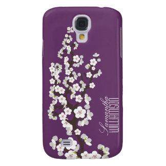 Blüte der Kirsche3 (Lavendel) Galaxy S4 Hülle