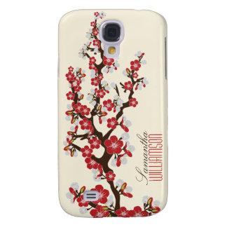 Blüte der Kirsche3 (rot) Galaxy S4 Hülle
