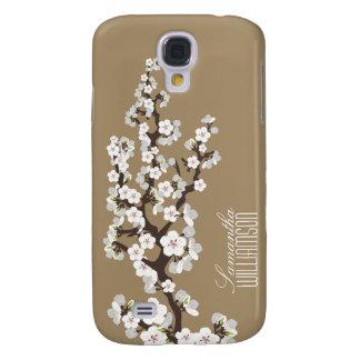 Blüte der Kirsche3 (Schokolade) Galaxy S4 Hülle