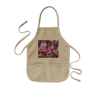 Blüte der Kirsche Kinderschürze