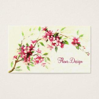 Blüte Visitenkarte