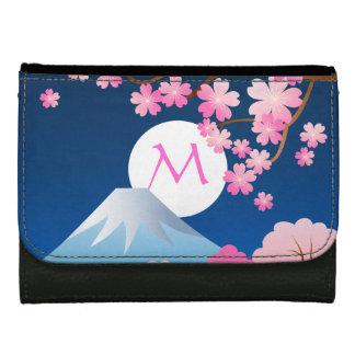 Blüten-Frühlings-Japan-Nacht Kirschblüte Mt Fuji
