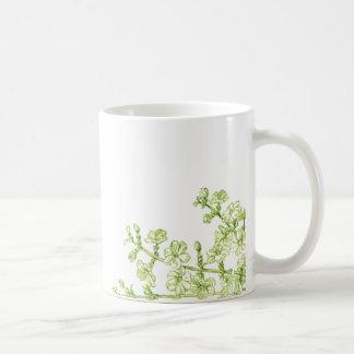 Blüten-Niederlassungen Kaffeetasse