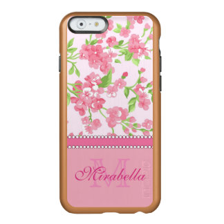 Blüten-Niederlassungsname Aquarell des Frühlinges Incipio Feather® Shine iPhone 6 Hülle