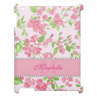 Blüten-Niederlassungsname Aquarell des Frühlinges iPad Hülle