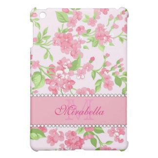 Blüten-Niederlassungsname Aquarell des Frühlinges iPad Mini Hülle