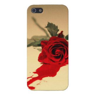 Bluten-Rote Rose iPhone 5/5s Fall iPhone 5 Schutzhüllen