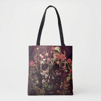 Blüten-Schädel Tasche