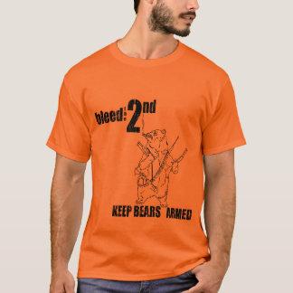 BLUTEN Sie DAS 2. T-Shirt