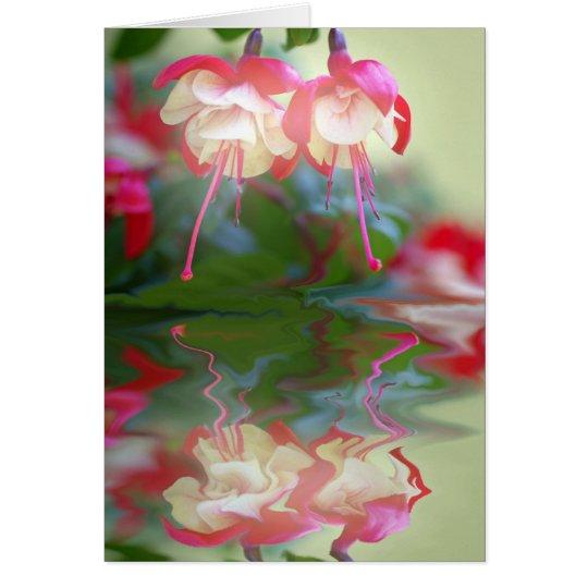 Blütentraum Karte