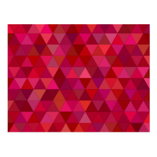 Blutige Dreiecke Postkarte