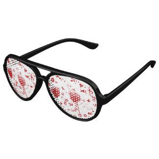 Blutige Sonnenbrille
