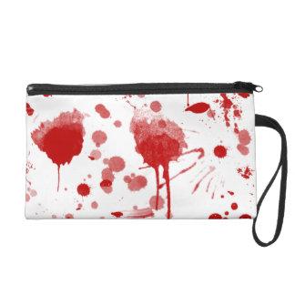 Blutige Wristlet Handtasche