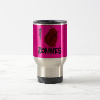 blutige Zombies des Herzens I Reisebecher