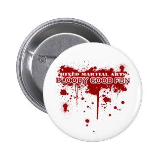 Blutiger guter Spaß Button