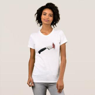 Blutiger Messer-T - Shirt
