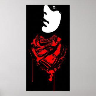 blutiger Schal! Poster