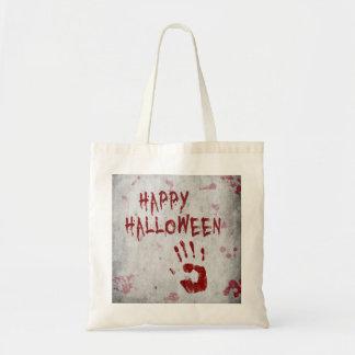 Blutiges Handprint Halloween - Tasche