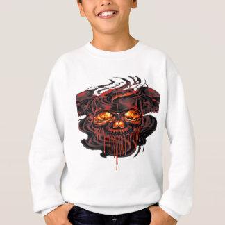 Blutiges rotes Skelette png Sweatshirt