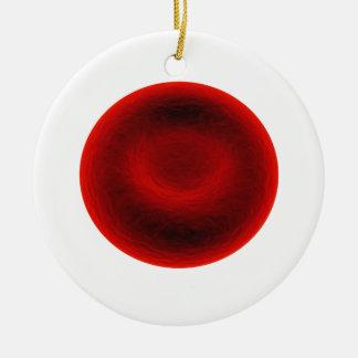 Blutzelle Keramik Ornament