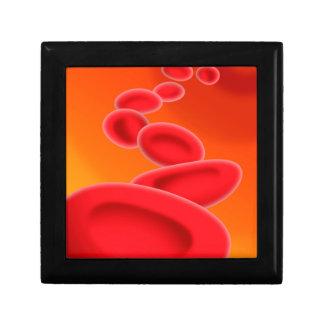 Blutzellen Kleine Quadratische Schatulle