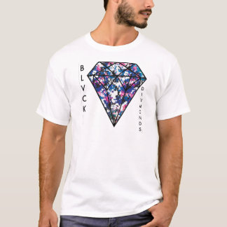 BLVCK DIVMONDS - Rosa Camouflage T-Shirt