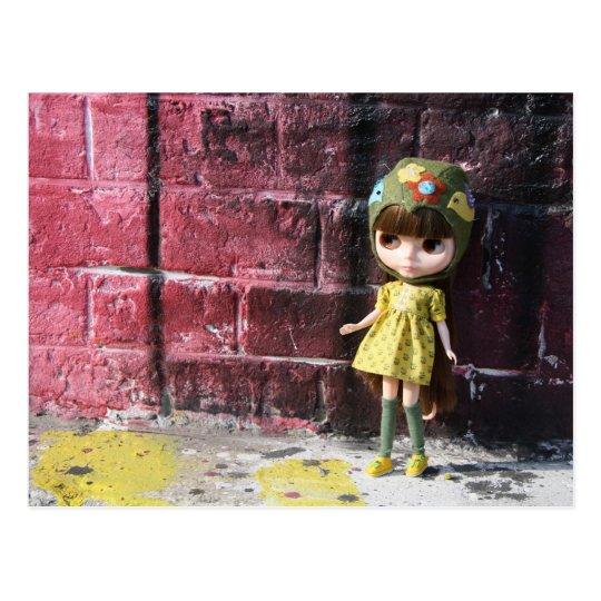 Blythe Raspberry Sorbet Postkarte