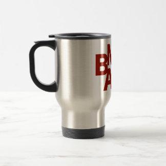 BMAC Logo-rostfreier Stahl-Reise-Tasse Reisebecher