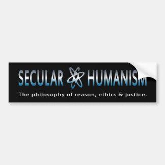 Bmp-Philosophie des weltlichen Humanismus Autoaufkleber