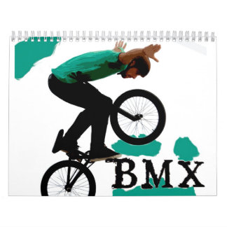 BMX 2013 Kalender, Copyright Karen J Williams Abreißkalender