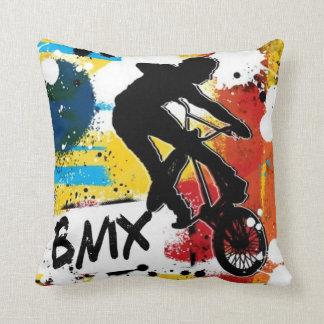 BMX 2 versah Kissen mit Seiten