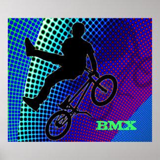 BMX auf Fraktal-Film-Festzelt Plakat