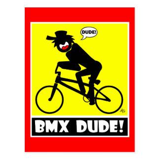 BMX DUDE-18 POSTKARTE