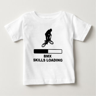 BMX Fähigkeits-Laden Baby T-shirt
