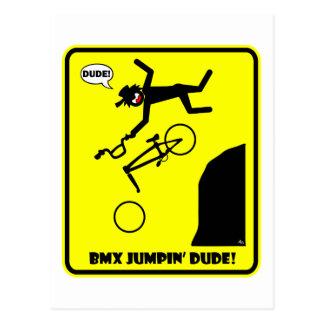 BMX JUMPIN'-21 POSTKARTE