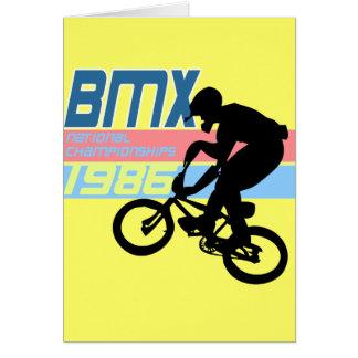BMX Meisterschaften 1986 Karte